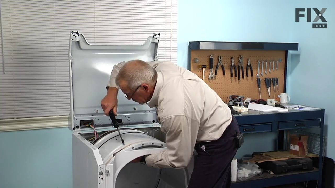Maytag Dryer Repair How To Replace The Tall Baffle Youtube Diagram