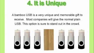 Eco Friendly Bamboo Usb - Corporate Gift Ideas