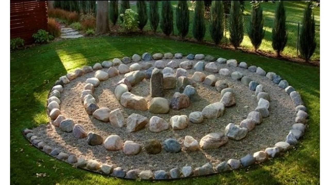 Small garden stones - YouTube on Small Garden Ideas With Rocks id=57283