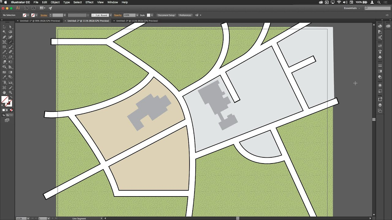 easy street map drawing software