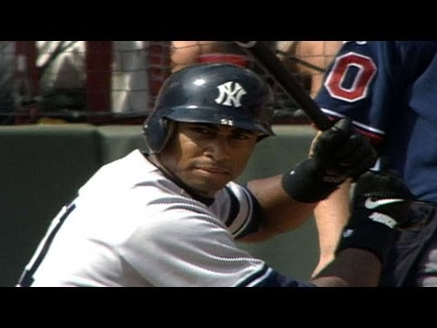 96 ALDS Gm4: Bernie Williams homers from both sides