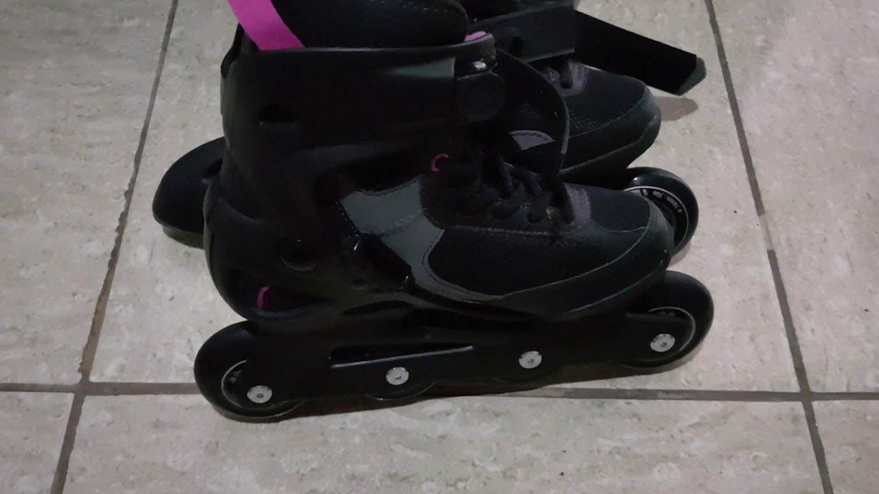 df2e7898f93 Patins Oxelo fit 3 Roller - YouTube