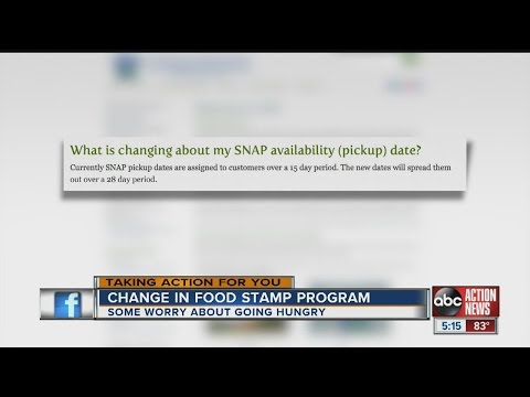 Changes in Food Stamp program - YouTube