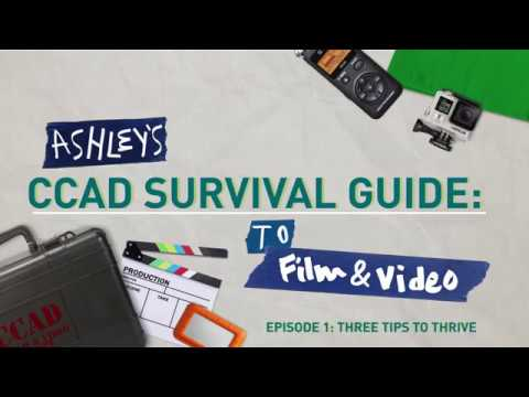 CCAD Survival Guide: Film & Video