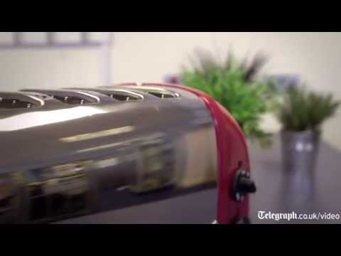 Beautiful timelapse: a Dualit toaster made in just 70 seconds