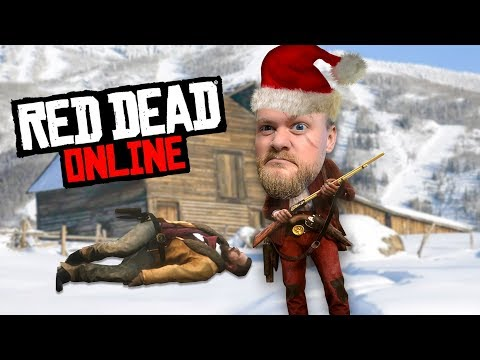 Spreading Christmas Joy In Red Dead Online | Red Dead Redemption 2 thumbnail