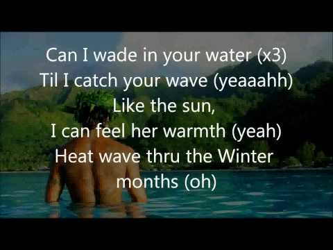 Common Kings  - Wade In Your Water (Lyrics Video)