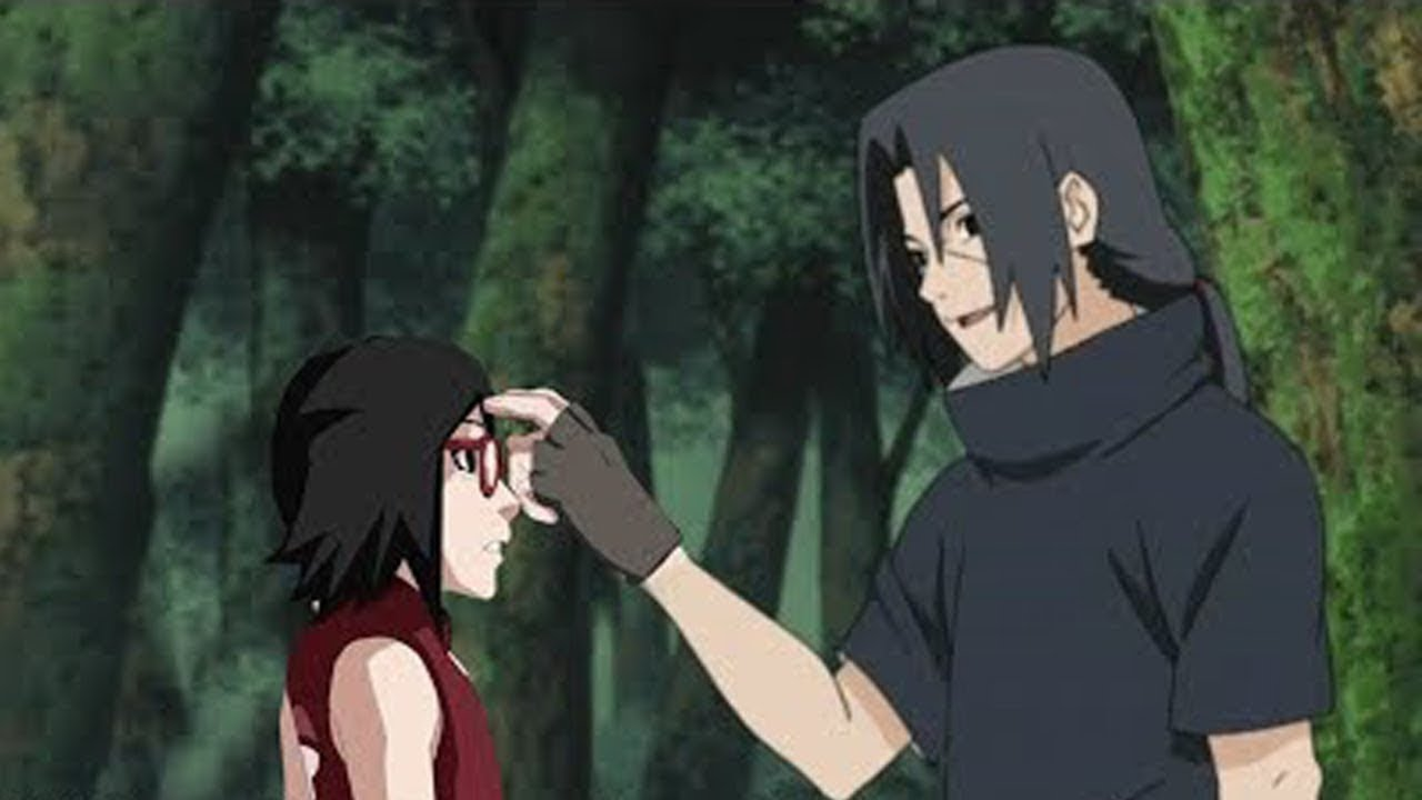 Sasuke Let Sarada See Her Uncle Itachi For The First Time Youtube