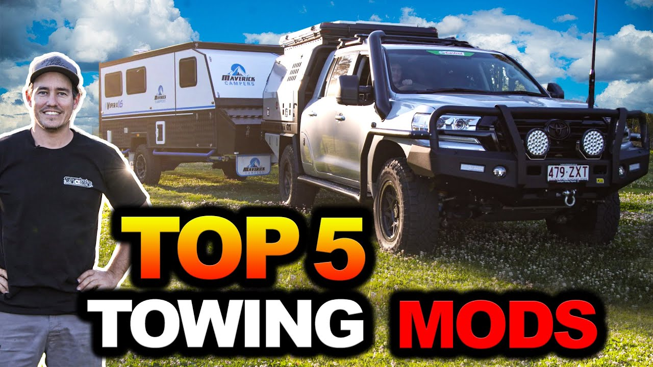 Download SETTING UP YOUR 4WD TO TOW – Expert Secrets! GVM vs. GCM – Towing weights explained