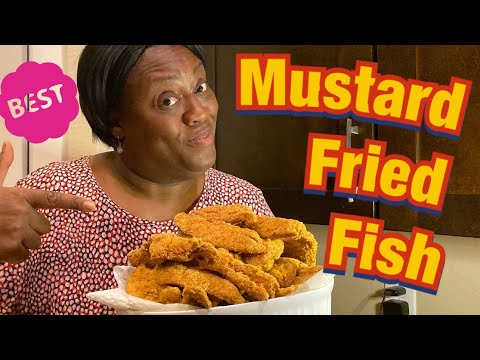 Mustard Fried Fish • Mama G's Family Farm