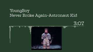 YoungBoy Never Broke again -Astronaut Kid visualizer