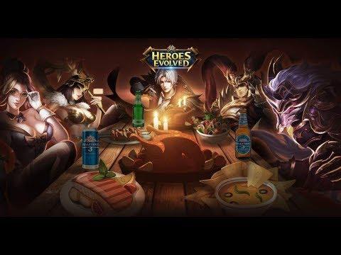 Heroes Evolved |  Road to Palladium 3