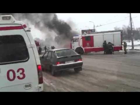 Фантастический пожар у цирка в Казани