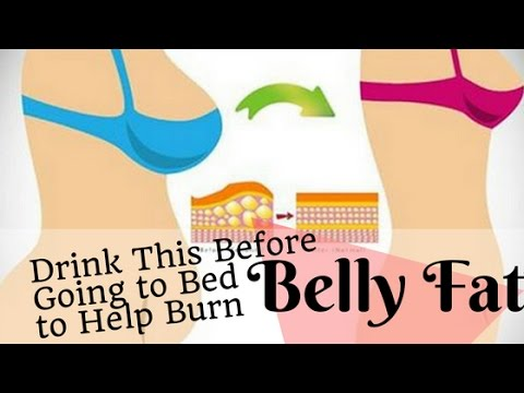 If You Drink This Before Going To Bed You Will Burn Belly Fat Like Crazy TRY NOW !!!
