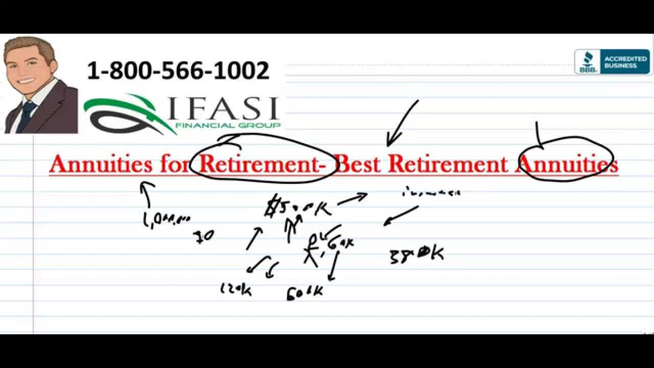 Annuities for Retirement - How to use an Annuity for Retirement