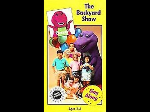 Opening & Closing To Barney:The Backyard Show 1992 VHS ...
