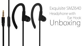 Gambar cover Exquisite SMZ640 Headphone with Ear Hook from GearBest