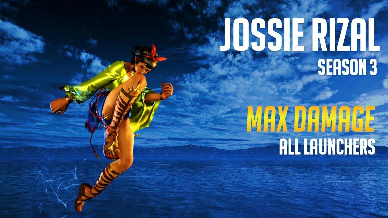 Jossie Max Damage Combos (Season 3)