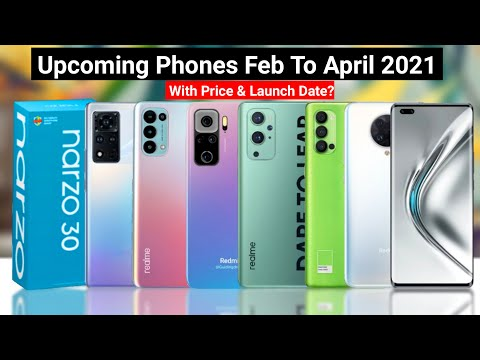 Upcoming Mobile Phones 2021 | Realme 8Pro | Redmi Note 10Pro | Poco F2 | Realme Race Pro |Galaxy F62