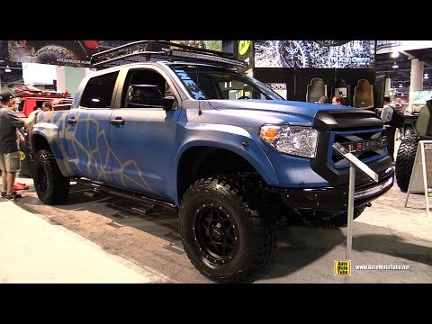 2016 Toyota Tundra Line-X Customized - Exterior and Interior Walkaround - SEMA 2016