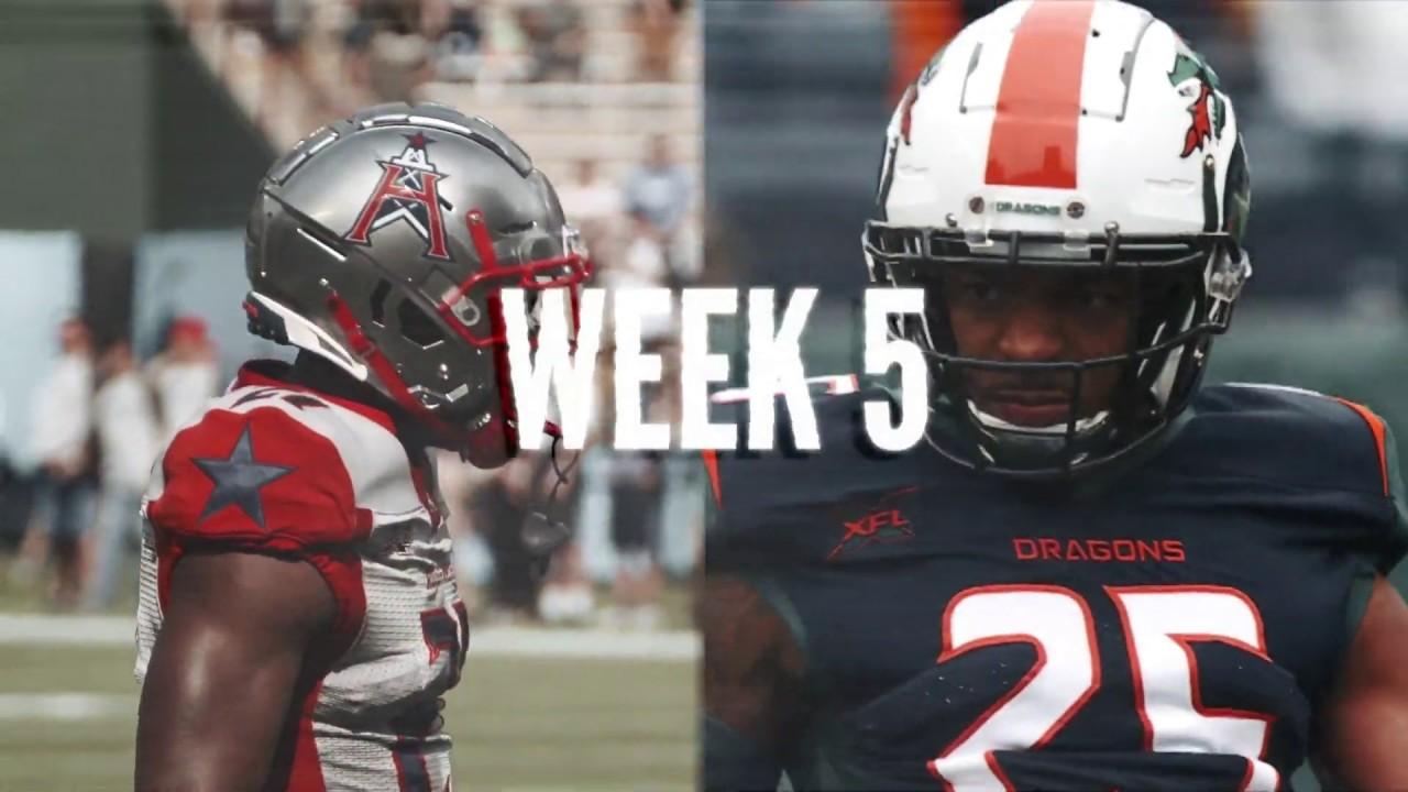 Week 5: Seattle Dragons vs Houston Roughnecks