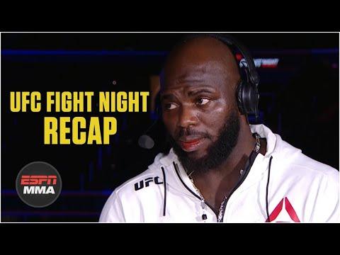 Jairzinho Rozenstriuk On Overeem KO, Wanting Ngannou Next | UFC Fight Night Post Show | ESPN MMA