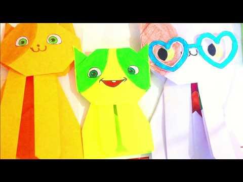 Paper crafts FOR KIDS | DIY Paper CAT Origami Cat 🐱
