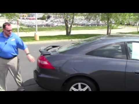 Used 2003 Honda Accord EX-L V6 Coupe for sale at Honda Cars of Bellevue...an Omaha Honda Dealer!