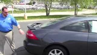 Used 2003 Honda Accord EX-L V6 Coupe for sale at Honda Cars of Bellevue...an Omaha Honda Dealer!