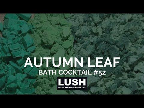LUSH COSMETICS Bath Cocktail #52: Autumn Leaf Bubble Bath
