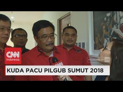 (Eksklusif) Djarot Resmi Jadi Cagub Sumut dari PDIP ; Kuda Pacu Pilgub Sumut 2018