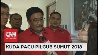 Eksklusif- Djarot Syaiful Hidayat Resmi Jadi Cagub Sumut dari PDIP ; Pilkada 2018