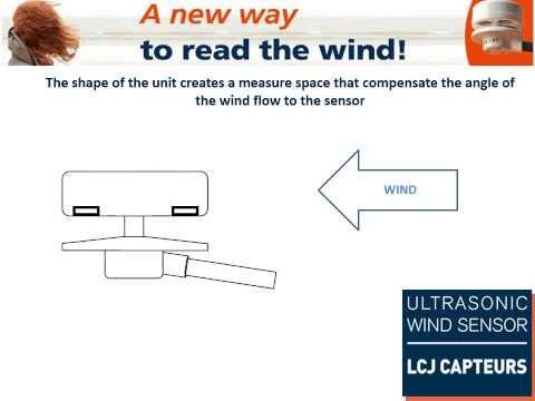LCJ Capteurs Ultrasonic Wind Sensor: How does it work?