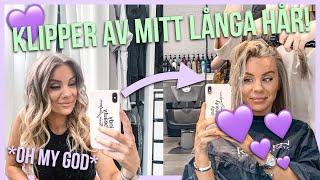 KLIPPER AV MITT LÅNGA HÅR!!!