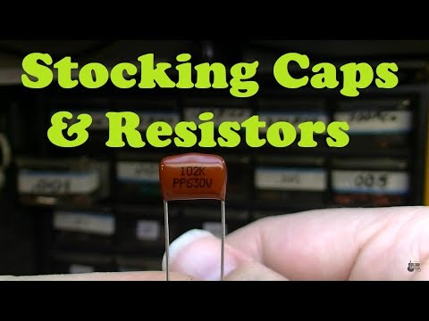 What Caps and Resistors Should Amp Techs Keep in Stock?