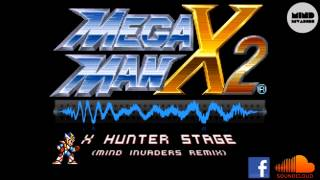 Megaman X2 - X Hunter Stage (Mind Invaders Remix) [Electro House]