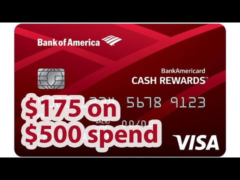 Awesome Cash Bonus From Bofa Cash Rewards