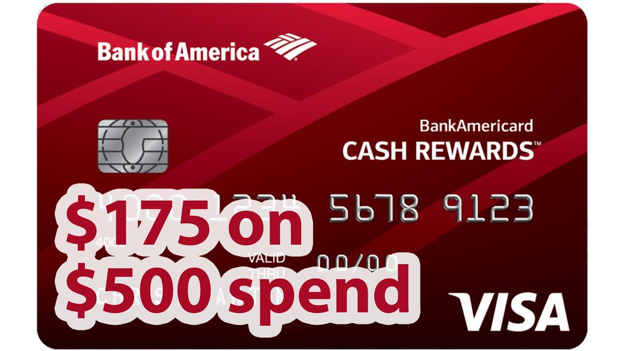 Awesome Cash Bonus from BofA Cash Rewards | BeatTheBush - YouTube