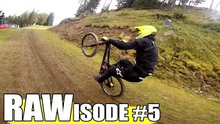 Rawisode 5: Getting loose on the big bike