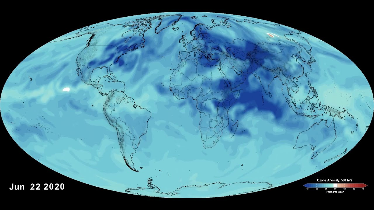 NASA Finds Local Lockdowns Brought Global Ozone Reductions