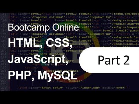 Perkenalan HTML, CSS, JQuery Dan PHP (Bootcamp Online: HTML, CSS, JavaScript, PHP, MySQL)