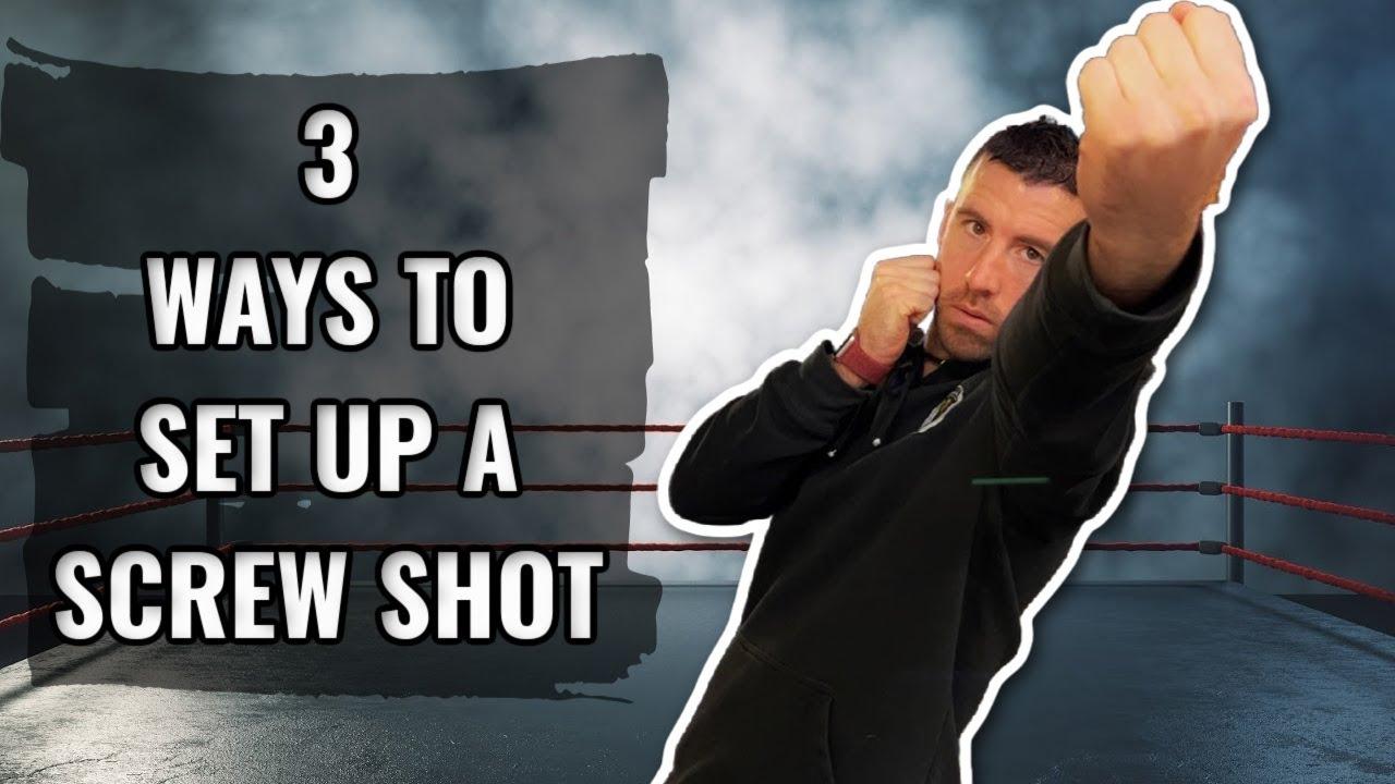 3 Ways To Set Up The Screw Shot