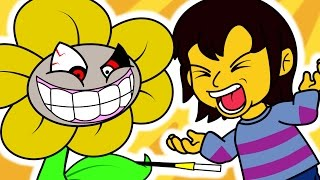 If Undertale had a Flirting Route (Funny Animation) thumbnail
