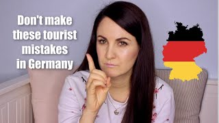 COMMON MISTAKES TOURISTS MAKE IN GERMANY 🇩🇪