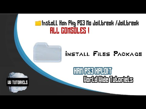 How To Add The Package Manager In The PS3 Slim/SuperSlim 3v/4v Using