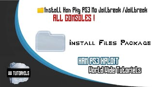 How To Add The Package Manager In The PS3 Slim/SuperSlim 3v/4v Using Han / USB Root