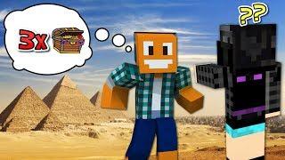 """Minecraft AQUA #21 - """"2 piramidy, nowa wioska, eksploracja!"""""""