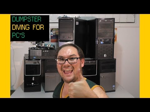 Dumpster Diving for Computers!