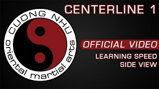 Cuong Nhu Centerline 1 - Official Kata - Learning Speed - Side View