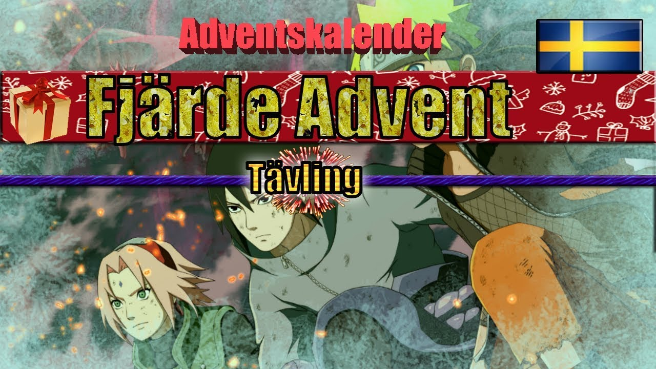 Adventskalender 2018 Naruto